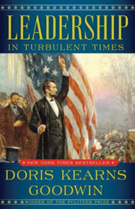 Leadership in Turbulent Times non-fiction cover