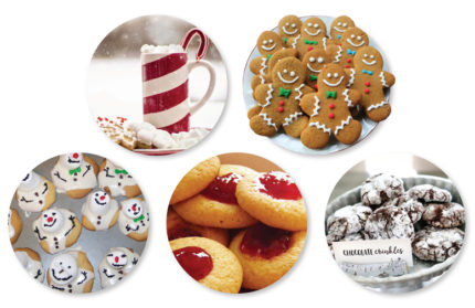 Holiday cookies and treats